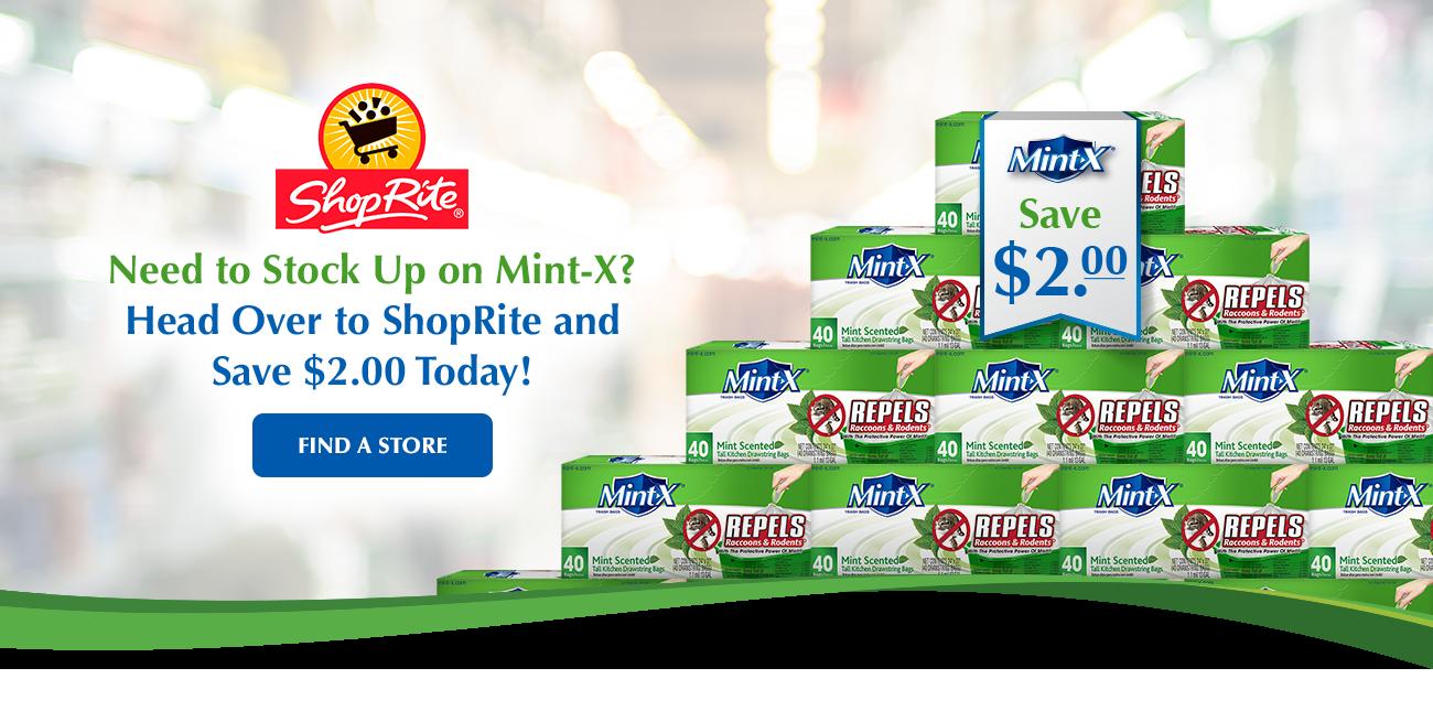 Get $2.00 Off Mint-X at ShopRite